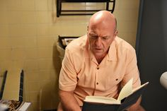 Hank's epiphany.... on the toilet!