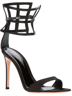 GIANVITO ROSSI - lattice cuff sandal  http://gtl.clothing/a_search.php#/post/Gianvito%20Rossi/true @gtl_clothing #getthelook