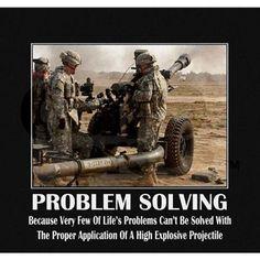 Problem Solving. GO ARMY!!