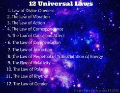 "THE LAWS OF LIFE: Twenty Universal Laws and Spiritual Truths"" -- http://www.selfgrowth.com/articles/THE_LAWS_OF_LIFE_Twenty_Universal_Laws_and_Spiritual_Truths_from_Inspirational_Books_-_Updated.html"