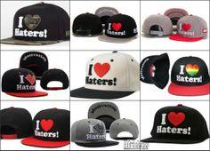 AAAwholesaler:: Buy NEW 2014 spring  summer I love haters Dgk snapback Letter Baseball Caps hiphop hat for men women  hip hop cap Winter Sp...