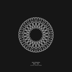 Daily minimal - islamic design week a new geometric design every day. Stussy Wallpaper, Graphic Design Typography, Logo Design, Alchemy Symbols, Arabic Pattern, Geometric Designs, Flat Design, Editorial Design, Minimalism