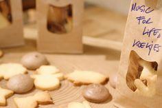 Deze koekjes maak je speciaal om te verkopen voor Music For Life en op die manier zoveel mogelijk winst te maken voor je eigen goede doel. Veel succes!