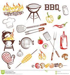 barbecue clipart free - Google zoeken