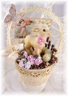 Trash to Treasure Art: Hippity Hoppity Easter's On Its Way