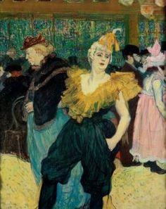 Clown Cha-U-Kao - Henri de Toulouse Lautrec