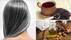 5 Natural Remedies to Prevent Premature Graying of Hair - ViraHealth Hair Due, Hair Health, Vitamins And Minerals, Organic Beauty, Natural Remedies, Detox, Serum, Long Hair Styles, Signs