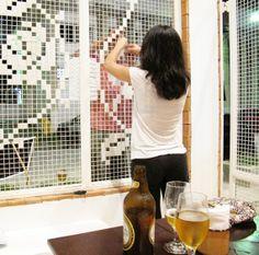 A grade bordada - dcoracao.com - blog de decoração