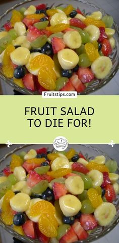 You will need: 1 can(s)pineapple chunks, in their own juice 1 can(s)mandarin oranges, drained 1 bunchgreen grapes, halved # Food and Drink salad Fruit Salad to Die For! Fruit Salad With Pudding, Best Fruit Salad, Summer Salads With Fruit, Fruit Salad Recipes, Jello Salads, Juice Recipes, Recipes With Fruit, Whipped Cream Fruit Salad, Fruit Sald