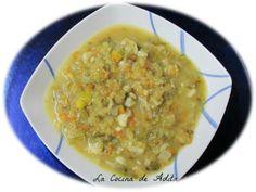 La Cocina de Adita: Sopa juliana