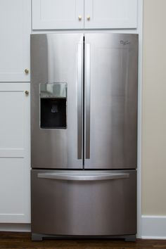 Choose Whirlpool products and appliances and trust they'll handle your family's chores with care. Find the right Whirlpool appliance to manage your needs. Laundry Appliances, French Door Refrigerator, Stainless Steel, Home, Siblings, Ad Home, Homes, Haus, Houses