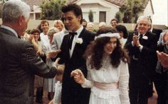 Johnny Depp married Lori Anne Allison in 1983, divorced in 1985. This was before Vanessa Paradis and his marriage to Amber Heard.