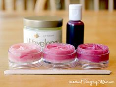 Make Your Own Semi-Homemade Tinted Lip Balm!