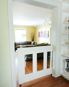 Building Your Dream Home: What Would YOU Add? Pocket gate for baby or dogs