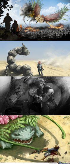 Pokemon Real life
