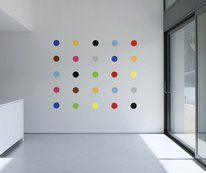 Art Deco Spots Wall Sticker Set by Red Candy