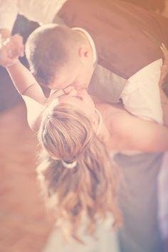 Dip kiss // Photo by Danielle. #weddingphotographerminneapolis #weddingphotography