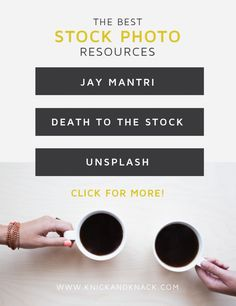Stock photo resources, free stock photo resources, blog content, beautiful stock photos, cool stock photos, royalty free images for your blog