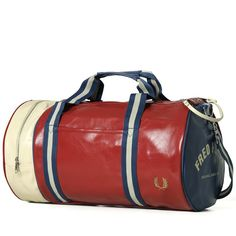 Fred Perry Classic Barrel Bag-gym bag