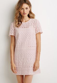 Ornate Lace Shift Dress | Forever 21 - 2000096597