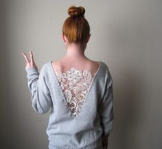 15 DIY Sweatshirt Alterations