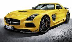Official 2013 Mercedes-Benz SLS AMG Black Series
