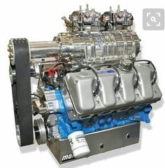 "Ford ""Boss"" 429 engine ."