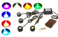 12.07$  Watch now - http://alivxk.shopchina.info/go.php?t=32547857699 - One to Four 4 x 1.5W Strobe Flash Eagle Eye with Wireless Remote 12V Daytime Running Lights Warning light LED Car Light  #aliexpress