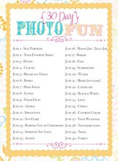 Blog photo challenge