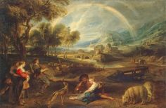TICMUSart: Landscape with a Rainbow - Peter Paul Rubens (1635... (I.M.)