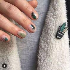 54 Tropical Nail Art Designs For Summer Nail Design Spring, Spring Nail Art, Spring Nails, Summer Nails, Tropical Nail Designs, Tropical Nail Art, Classy Nails, Trendy Nails, Cute Nails