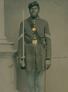 Sgt. Henry Stewart, Co. E - The 54th Massachusetts Volunteer Infantry Regiment