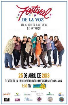 Festival de la Voz del Circuito Cultural de Bayamón 2013. | sondeaquiprnet