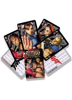 Street Fighter IV Playing Cards