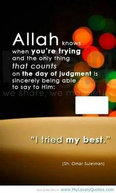Ya Allah easy my way...