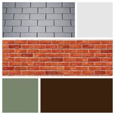 Image result for best color for orange brick exterior