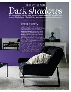 Purple wall living etc mag