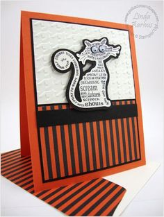 Stampin Up's Frightening Feline stamp set