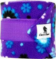 Purple Flower Classic Equine Polo Wraps Horse Boots, My Horse, Horse Tack, Horses, Polo Wraps, Classic Equine, Polo Horse, English Tack, Western Tack