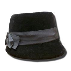 sombrero de terciopelo antiguo. Perteneció a dama de alta sociedad Objetos con encanto antiguo y nuevos
