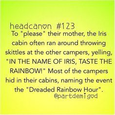 This sounds like something that would actually happen with all the funny stuff that the campers do