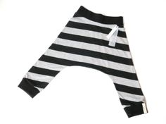 The Seattle Large Grey and Black Stripe by LEnfantTerribleShop