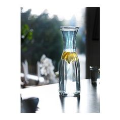 LÖNSAM Carafe - IKEA  Would do nicely for water