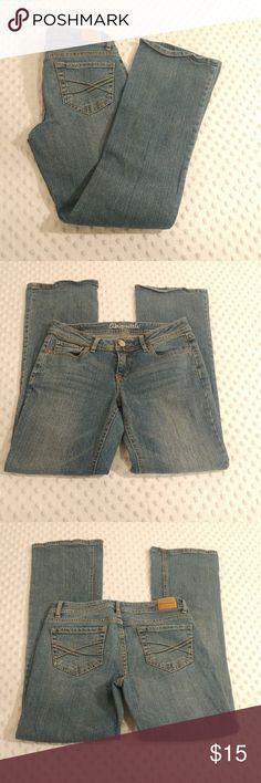 "Aeropostale bootcut jeans Aeropostale ""Chelsea"" bootcut jeans.   Size 2 short:  Waist 27"" Rise 7.5"" Length 29"" Aeropostale Jeans Boot Cut"