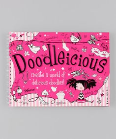 Take a look at this Doodleicious Paperback by Make Believe Ideas on #zulily today!