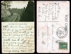 Gateway to Lanesboro MN    11-29-1907  State Archives #0770-046