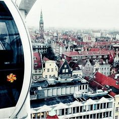 From the top 🎡 Photo by Congrats! 👏 Tag your photos of Gdansk and for a chance to be featured. Top Photo, Big Ben, Your Photos, Photo And Video, Travel, Instagram, Viajes, Traveling, Trips
