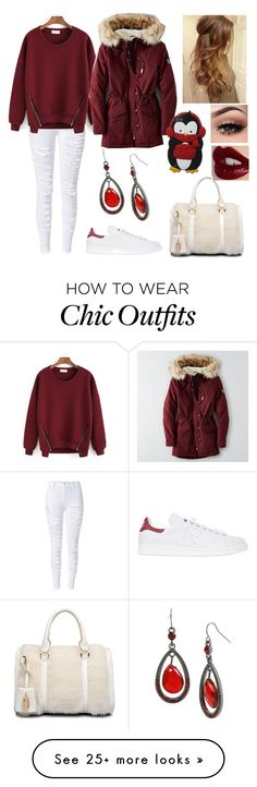"""""""Buying Christmas presents  part 2"""" by nena69 on Polyvore featuring adidas, American Eagle Outfitters, Charlotte Tilbury and Mixit"""