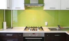 Decorar una cocina en color verde