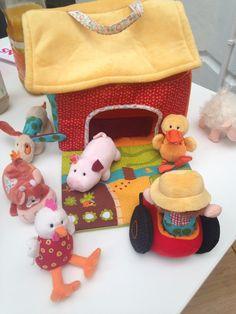 La ferme et les animaux : le jouet phare Lilliputiens pour les tout-petits